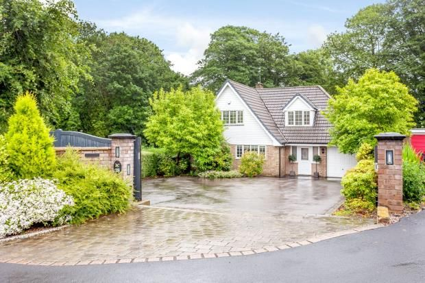 Thumbnail Detached house for sale in High Legh, Knutsford, Cheshire