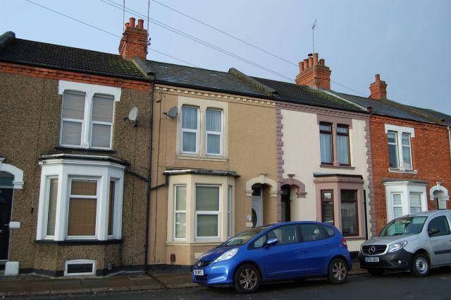 Front of Wycliffe Road, Abington, Northampton NN1