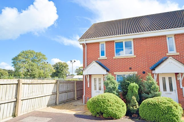2 bed end terrace house for sale in Gables Court, Willand