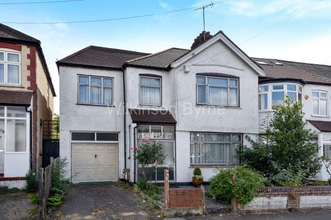 Thumbnail End terrace house for sale in Churston Gardens, London