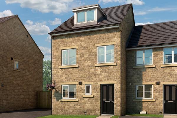 "Thumbnail Property for sale in ""The Oakhurst At The Forge, Winlaton"" at Garth Farm Road, Winlaton, Blaydon-On-Tyne"