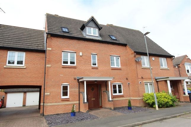 Thumbnail Semi-detached house for sale in Lacey Close, Lutterworth