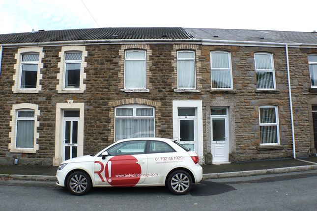 Thumbnail Terraced house to rent in Morris Street, Swansea