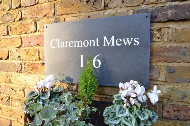Mews Signs of Claremont Mews, Claremont Road, West Byfleet KT14