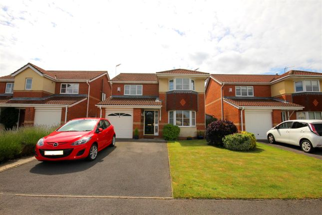 Thumbnail Detached House For Sale In Herrington Close Langley Park Durham