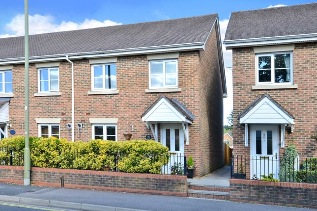 Thumbnail End terrace house for sale in Vicarage Road, Blackwater, Camberley