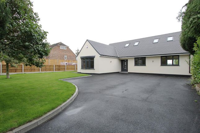 Thumbnail Detached bungalow for sale in The Hill, Glapwell, Chesterfield