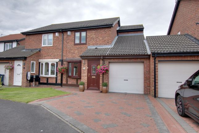 Thumbnail Semi-detached house for sale in Romsey Drive, Boldon Colliery