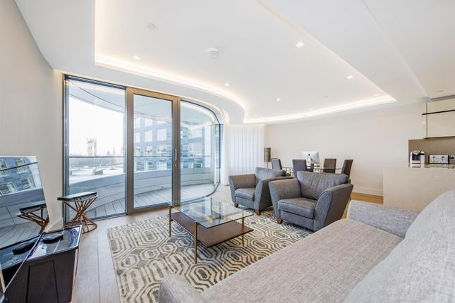 Thumbnail Flat to rent in The Corniche, Tower Two, 20 Albert Embankment, London