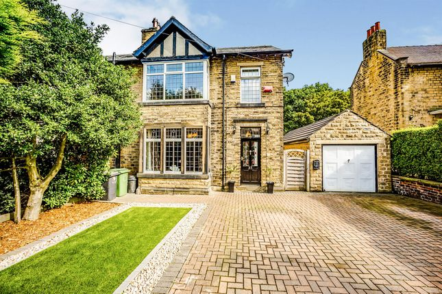 Thumbnail Semi-detached house for sale in Longley Road, Almondbury, Huddersfield