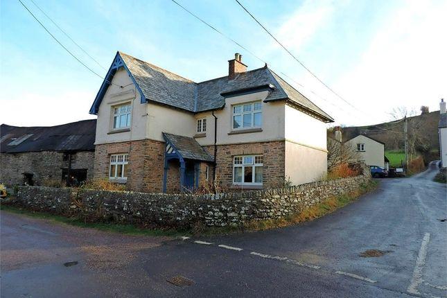 Thumbnail Detached house for sale in Brendon, Lynton, Devon
