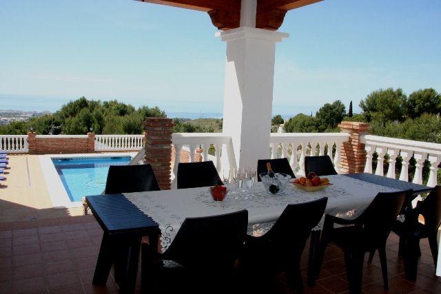 Terrace & Pool.