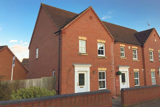 Thumbnail End terrace house for sale in Bromhurst Way, Chase Meadow Square, Warwick