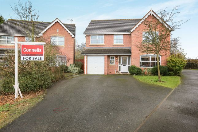 Thumbnail Detached house for sale in Gregorys Green, Coven, Wolverhampton