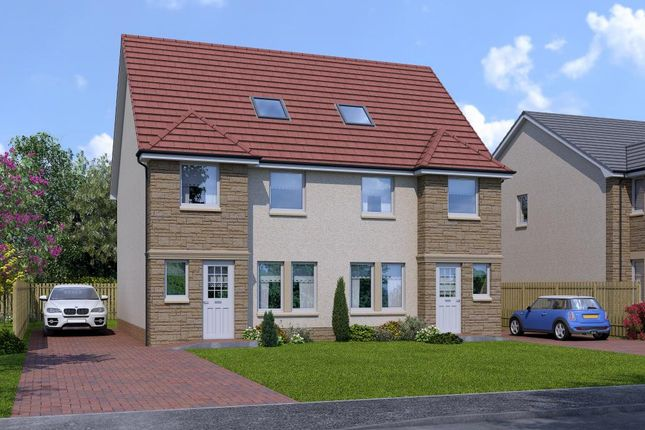 Thumbnail Town house for sale in Henton House Type, Ballochney Brae, Plains., Plains