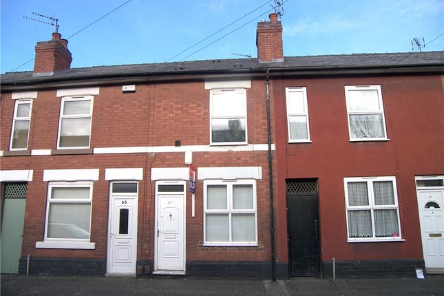 Thumbnail Terraced house to rent in Francis Street, Derby