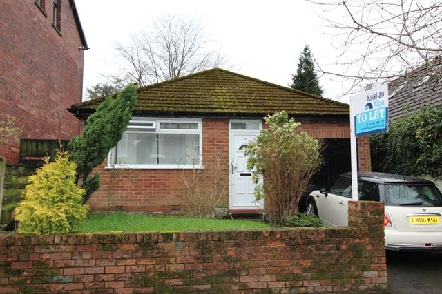 Thumbnail Bungalow to rent in Highfield Road, Prestwich, Manchester