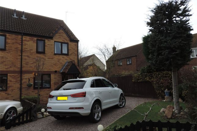 Thumbnail Semi-detached house to rent in Beck Way, Thurlby, Bourne, Lincolnshire