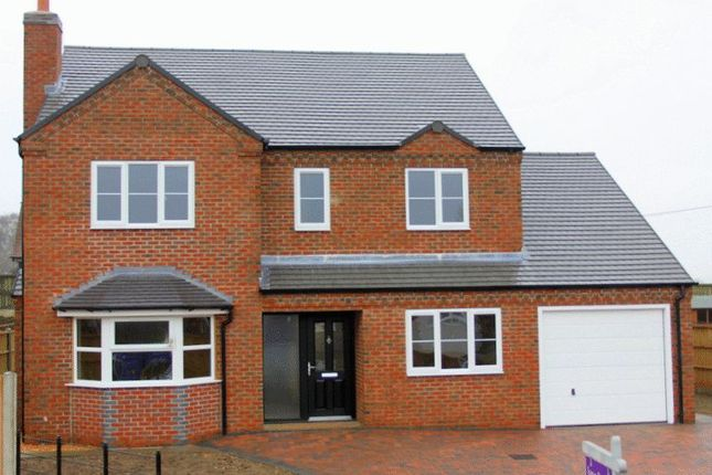 Thumbnail Detached house for sale in Four Bedroom Detached, Hillcrest, Newcastle Road, Market Drayton
