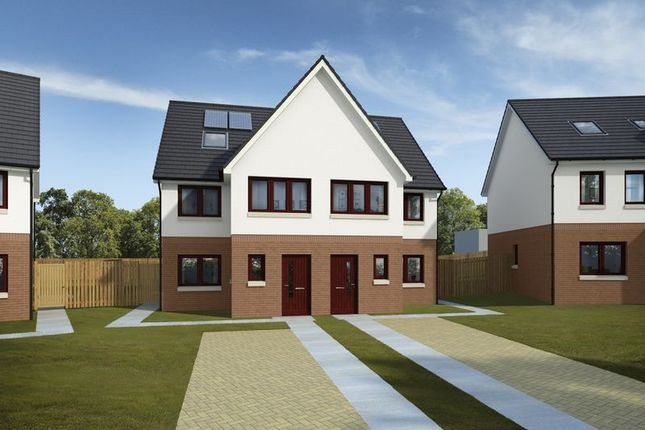 Thumbnail Semi-detached house for sale in Plot 21, West Church, Maybole