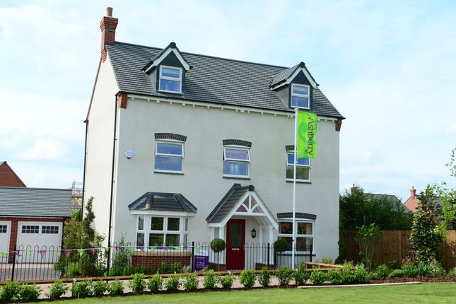 Thumbnail Detached house for sale in Moira Road, Ashby-De-La-Zouch
