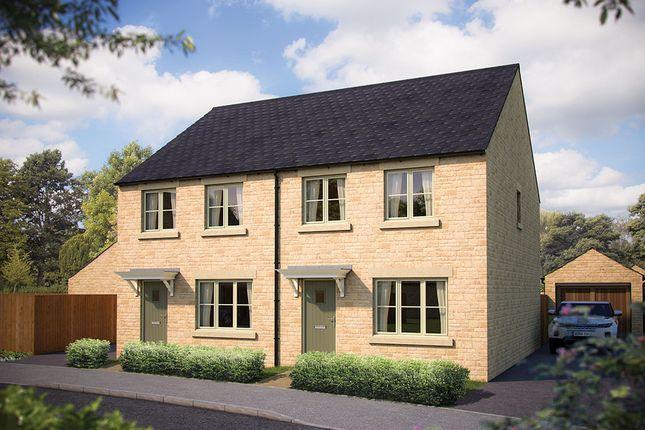 "Thumbnail Semi-detached house for sale in ""The Cranham"" at Todenham Road, Moreton-In-Marsh"