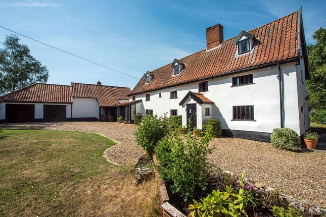 Thumbnail Detached house for sale in The Street, Tibenham, Norwich