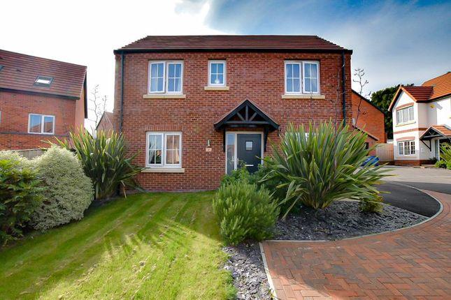 3 bed detached house for sale in Highfields Close, Alfreton DE55