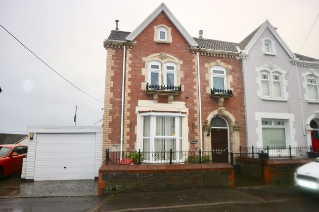 Thumbnail End terrace house for sale in Pant Villas, Pant, Merthyr Tydfil