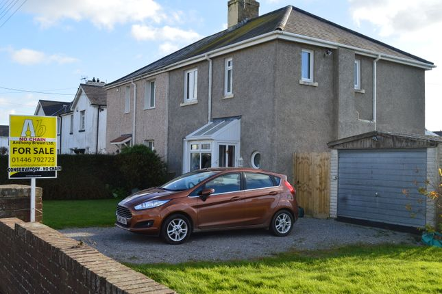 Thumbnail Semi-detached house for sale in Seaview Place, Llantwit Major