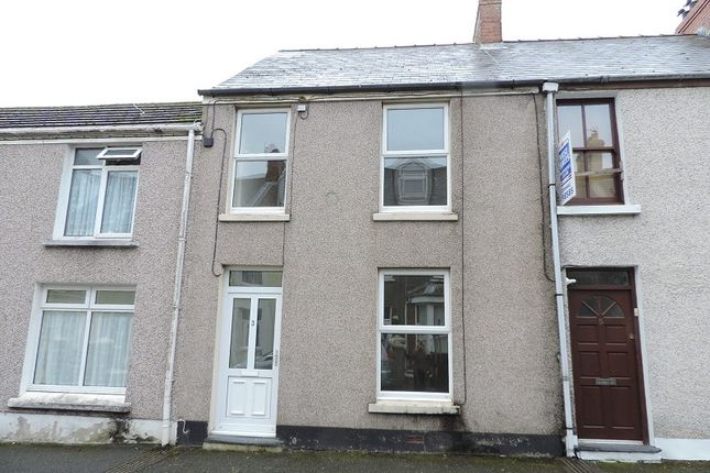 Thumbnail Terraced house to rent in Greville Road, Milford Haven