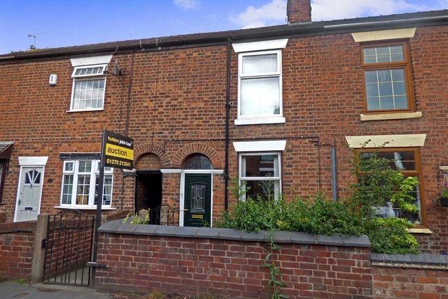 Thumbnail Terraced house for sale in Crewe Road, Shavington, Crewe