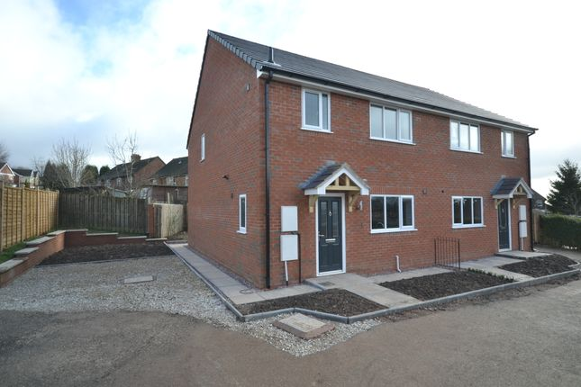 Thumbnail Semi-detached house for sale in Bains Grove, Chesterton, Newcastle-Under-Lyme