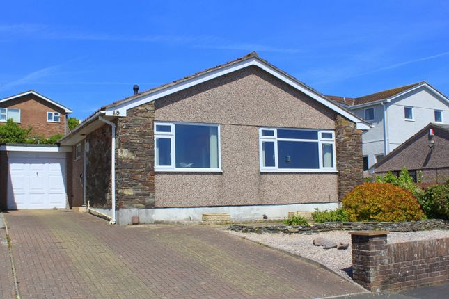 Thumbnail Detached bungalow for sale in Combley Drive, Thornbury, Plymouth