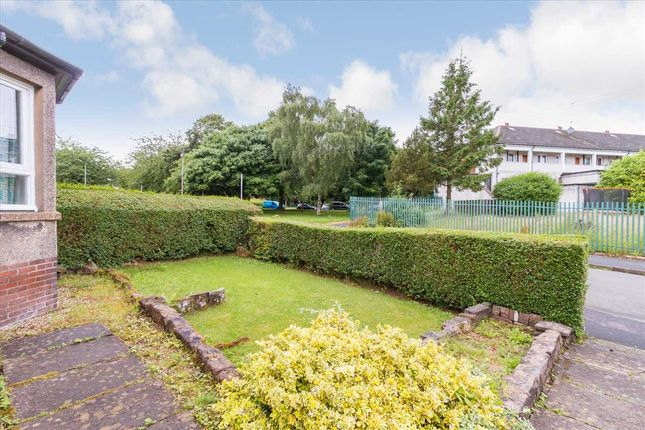 Front Garden of Damshot Crescent, Old Pollock, Glasgow G53