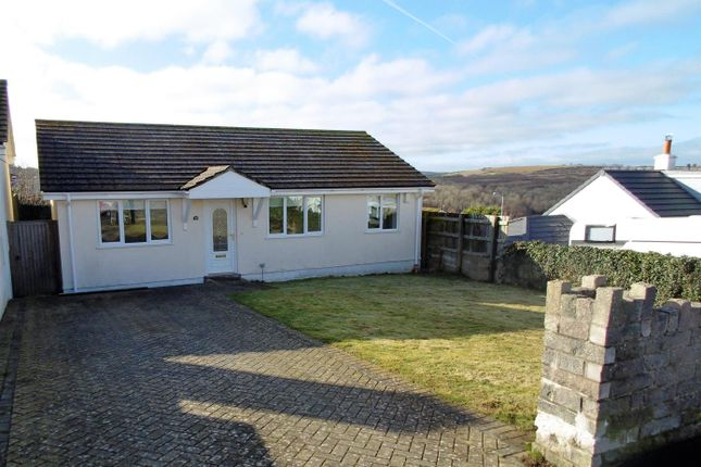 Thumbnail Detached bungalow for sale in Bodrigan Road, Looe