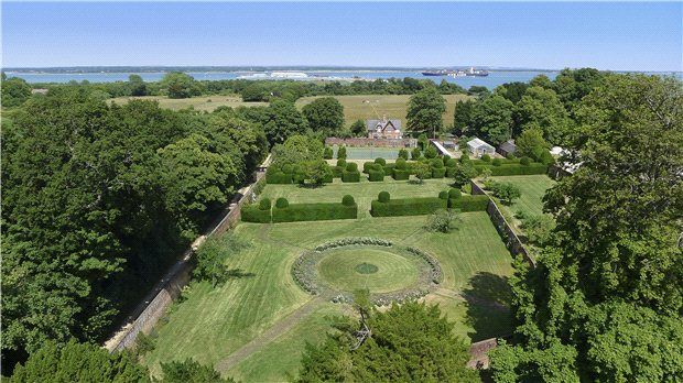 Walled Garden of Stanswood Road, Nr Lepe, Hampshire SO45