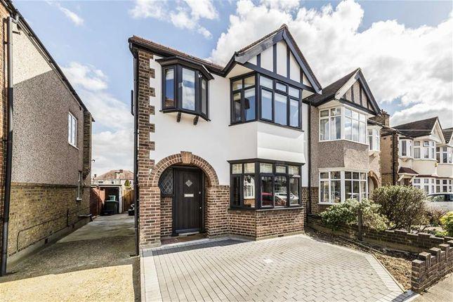 Thumbnail Semi-detached house for sale in Kendrey Gardens, Twickenham