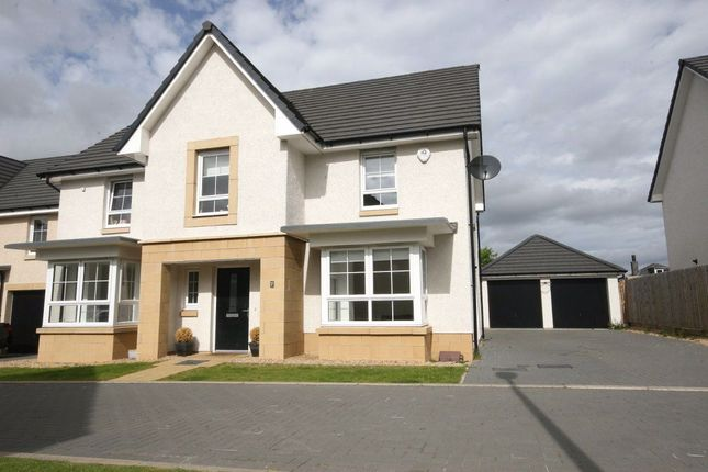 Thumbnail 4 bed detached house to rent in Gladhouse Place, Edinburgh