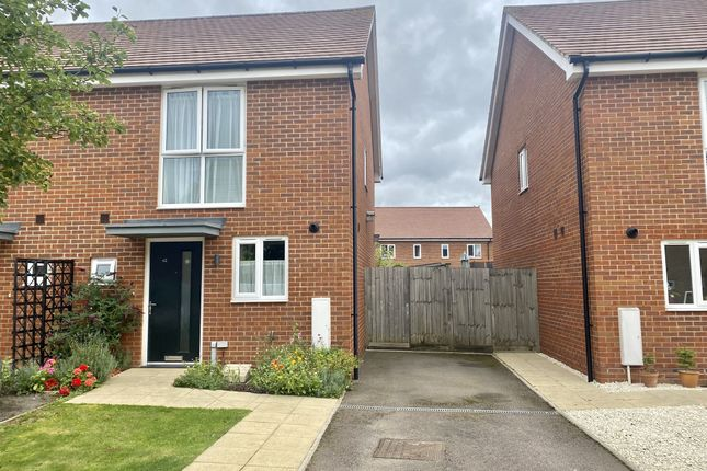 2 bed semi-detached house for sale in Spitfire Road, Upper Cambourne, Cambridge CB23