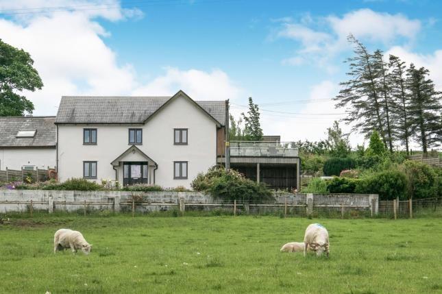 Front of Carmel, Llanrwst, Conwy, North Wales LL26