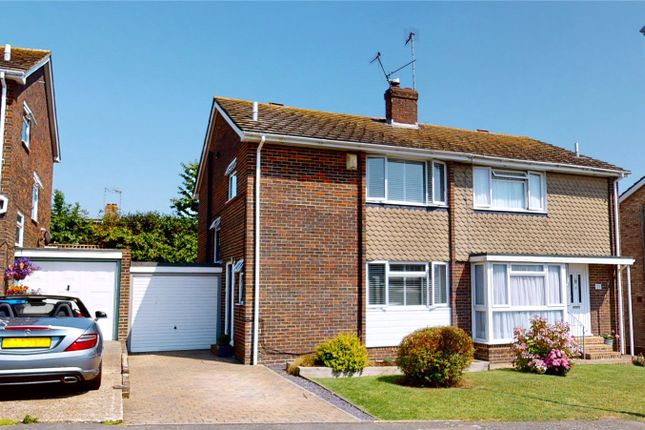 3 bed semi-detached house for sale in Greenoaks, North Lancing, West Sussex BN15