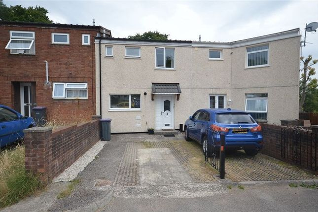 Thumbnail Terraced house for sale in Trannon Court, Thornhill, Cwmbran