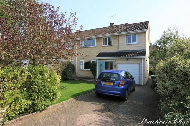Semi-detached house for sale in Stonehouse Close, Bath