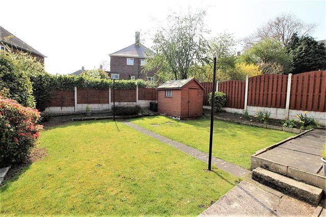 Rear Garden of Lister Crescent, Basegreen, Sheffield S12