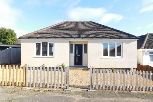 Thumbnail Detached bungalow for sale in The Gardens, Stotfold, Herts