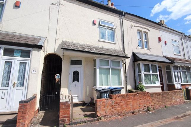 Thumbnail Terraced house to rent in Whitehall Road, Small Heath, Birmingham