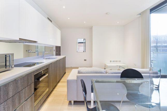 Living Room of Millennium House, Putney Plaza, London SW15