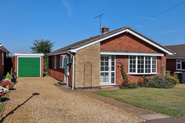 Thumbnail Detached bungalow for sale in Firs Avenue, Uppingham, Rutland