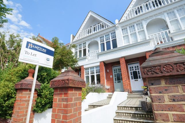 Thumbnail Terraced house to rent in Beaconsfield Villas, Brighton